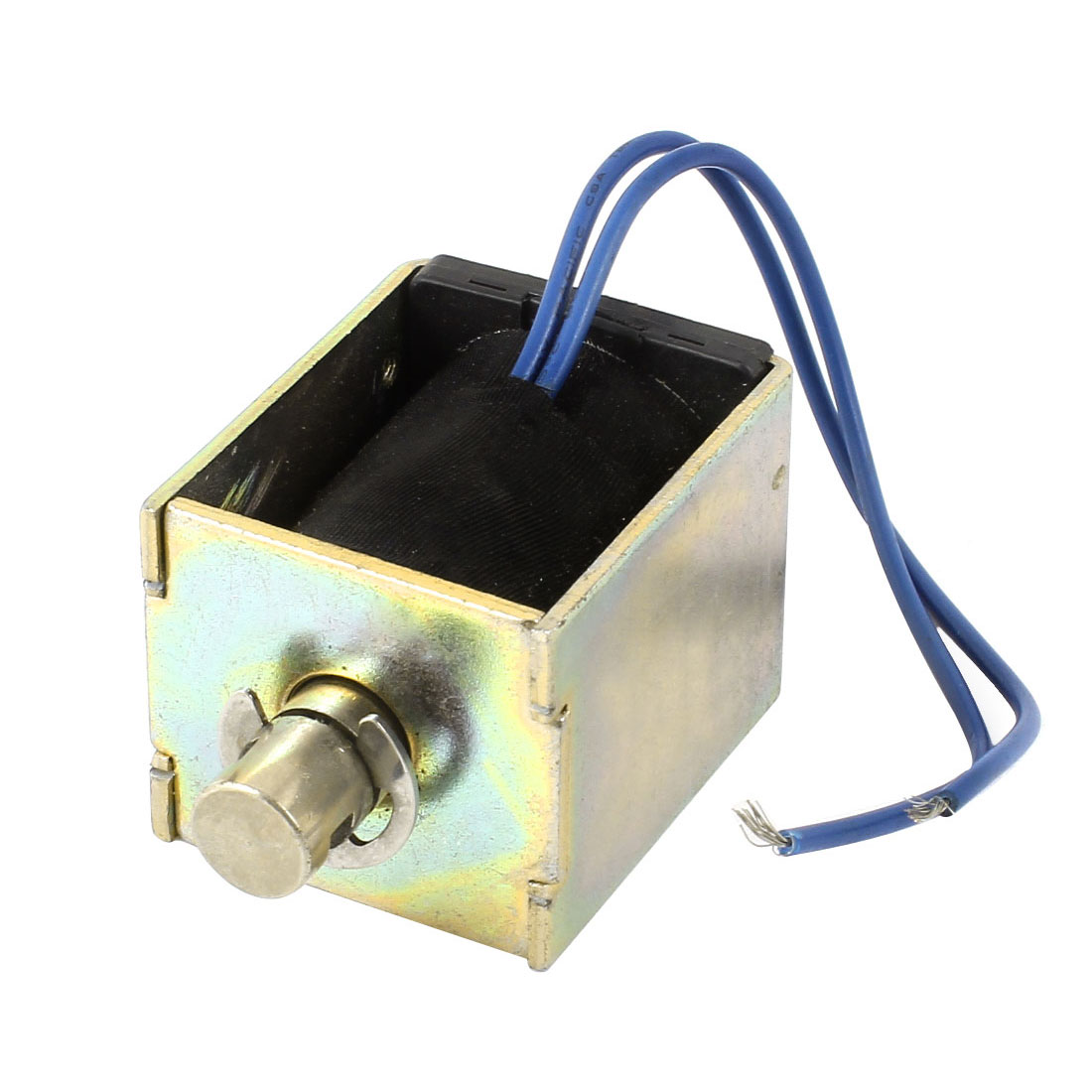 24V 0.68A 10mm 736g 16.45W Push Type Open Frame DC Solenoid Electromagnet Actuator