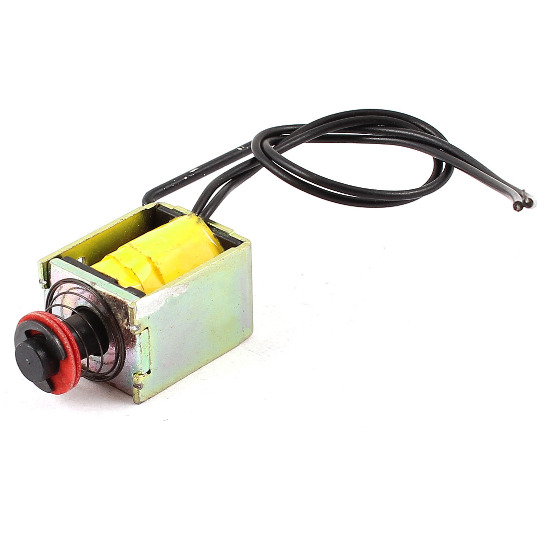 DC 18V 4.62W 1mm 65g 4mm 15g Pull Type Open Frame Linear Motion Solenoid Electromagnet Actuator