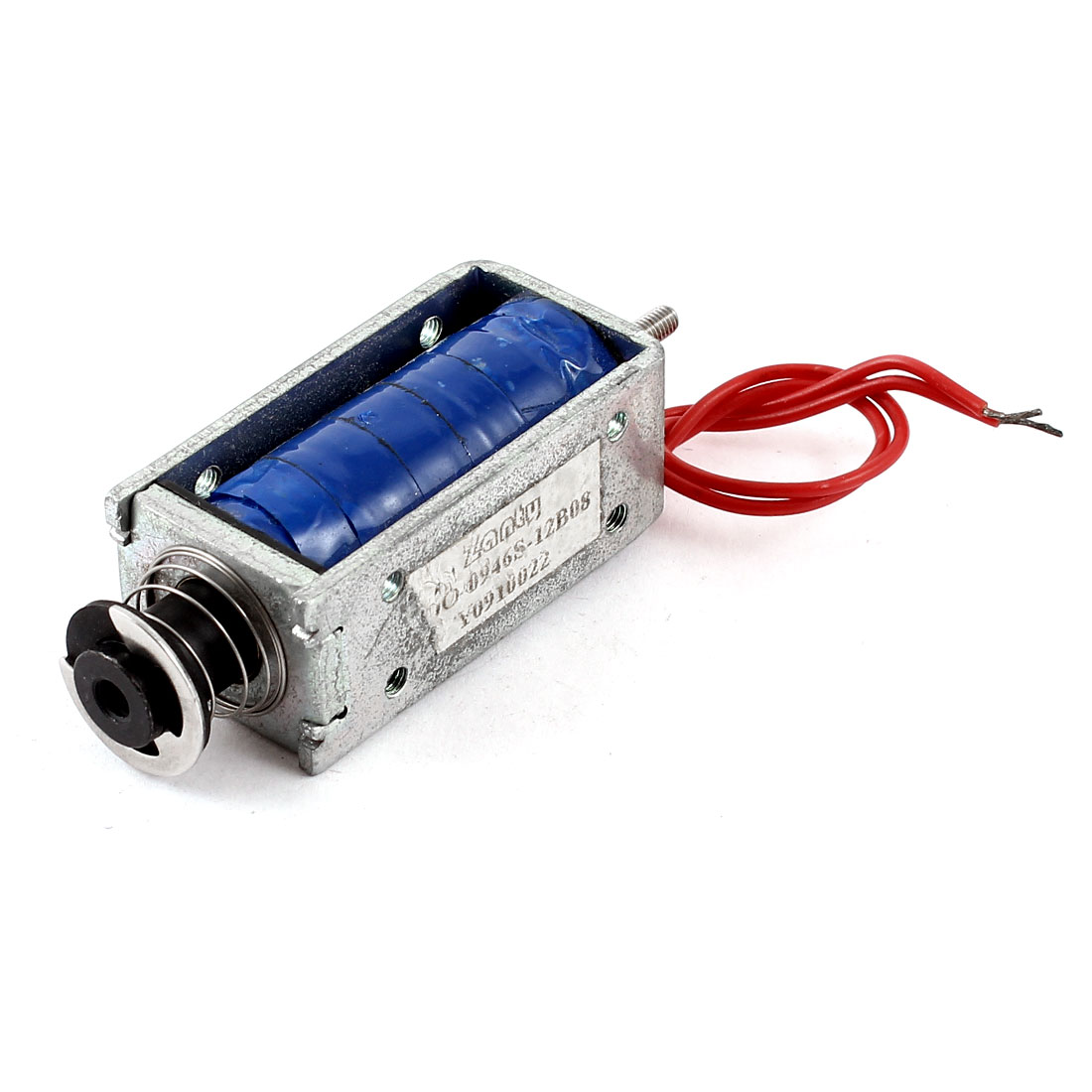 DC 12V 18W 5mm 560g Pull Type Open Frame Linear Motion Solenoid Electromagnet Actuator