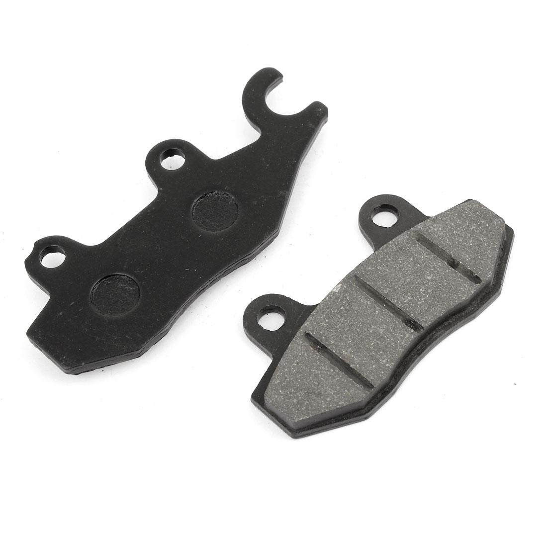 2 Pcs Black Motorcycle Front Ceramic Disc Brake Pads for HJ125K