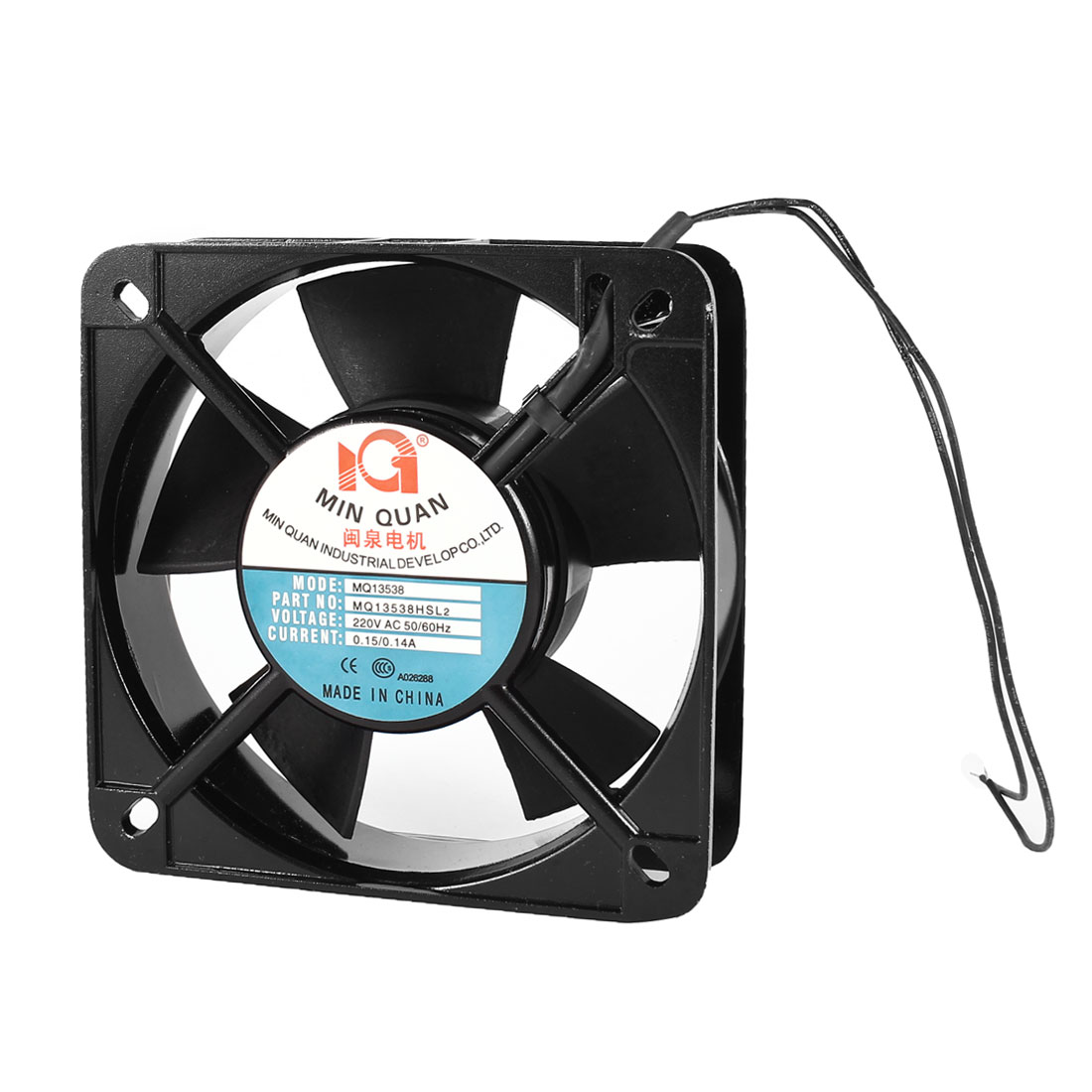 AC 220V 0.15/0.14A 135mmx135mmx40mm Cooling Fan for Computer Case CPU Cooler