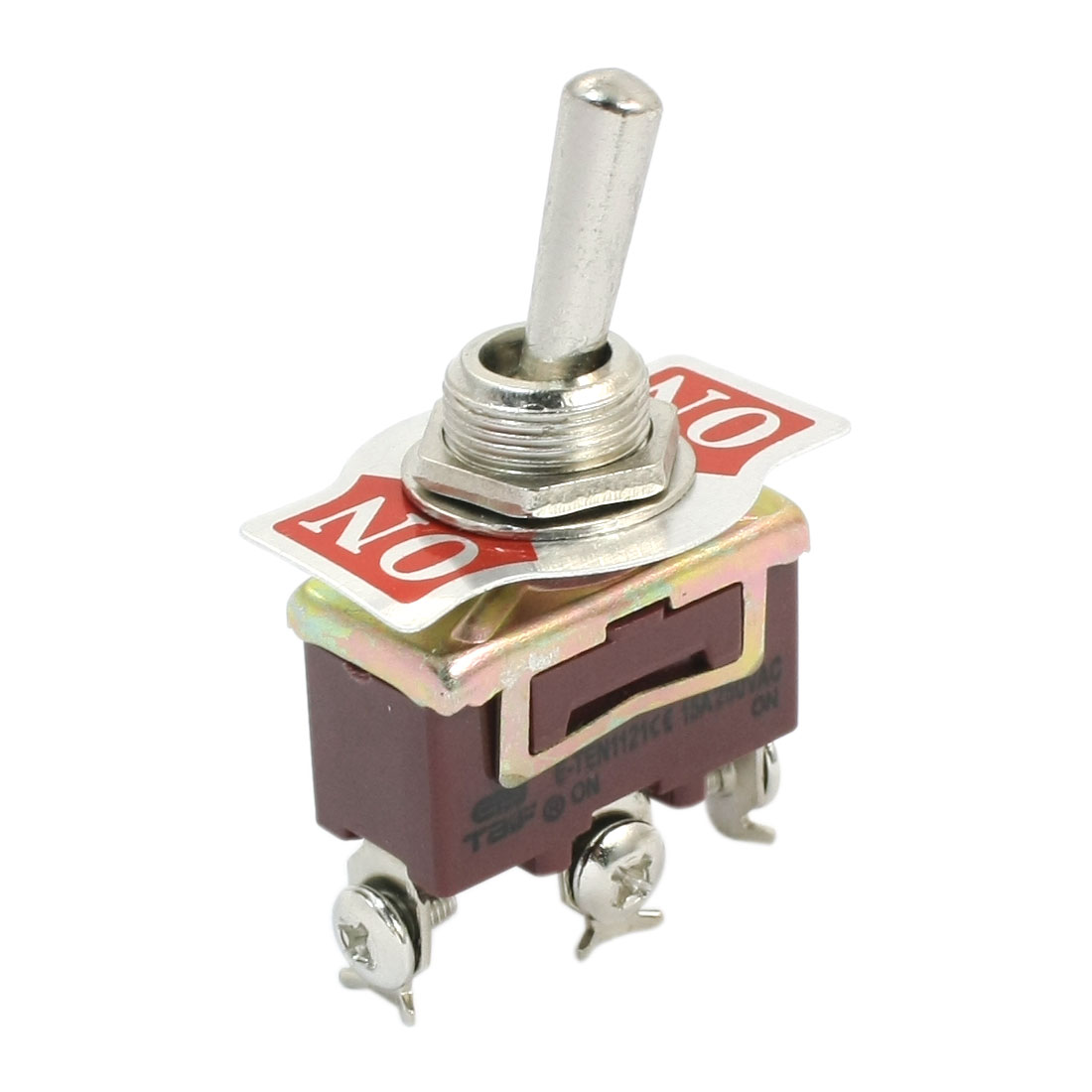 ON-ON SPDT 3 Screw Terminal Rocker Type Toggle Switch AC 250V 15A E-TEN1121