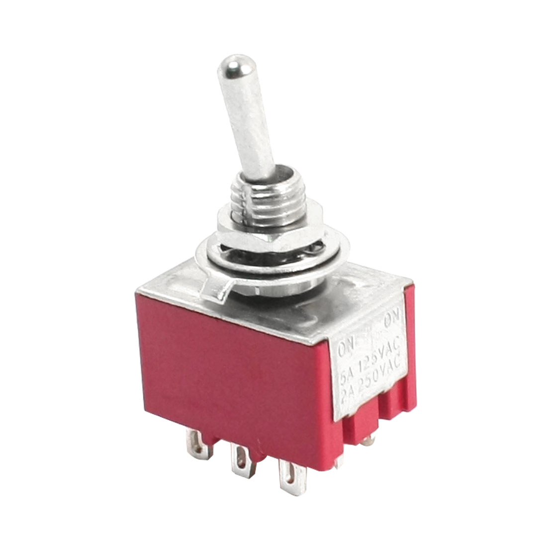 Repairing ON-ON 3PDT 9 Pins Terminal Rocker Type Toggle Switch AC 125V 5A