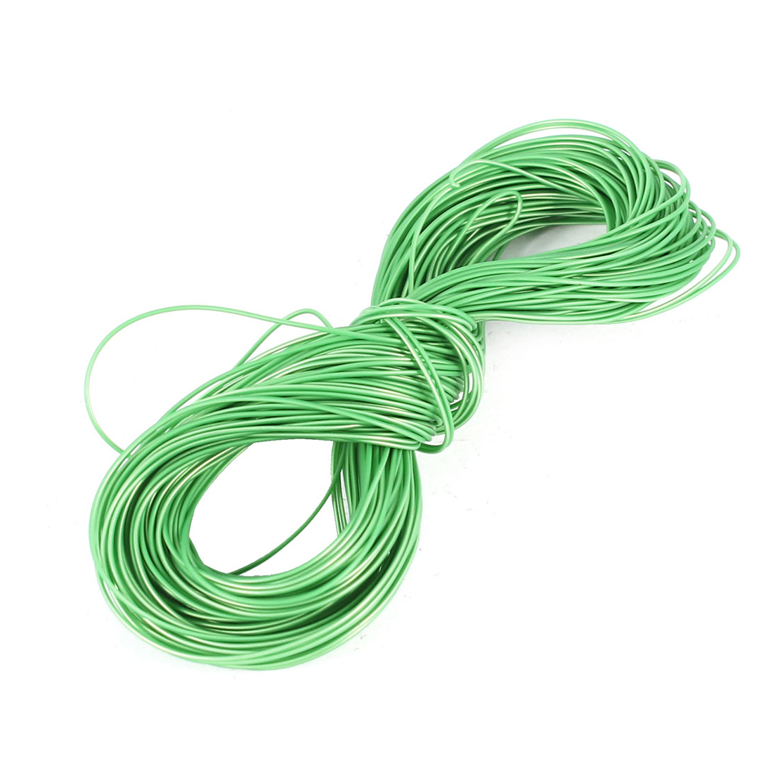 15m 50Ft 24AWG Hi-Temp High Tempreture PTFE Wrap Cable Wire Cord Green