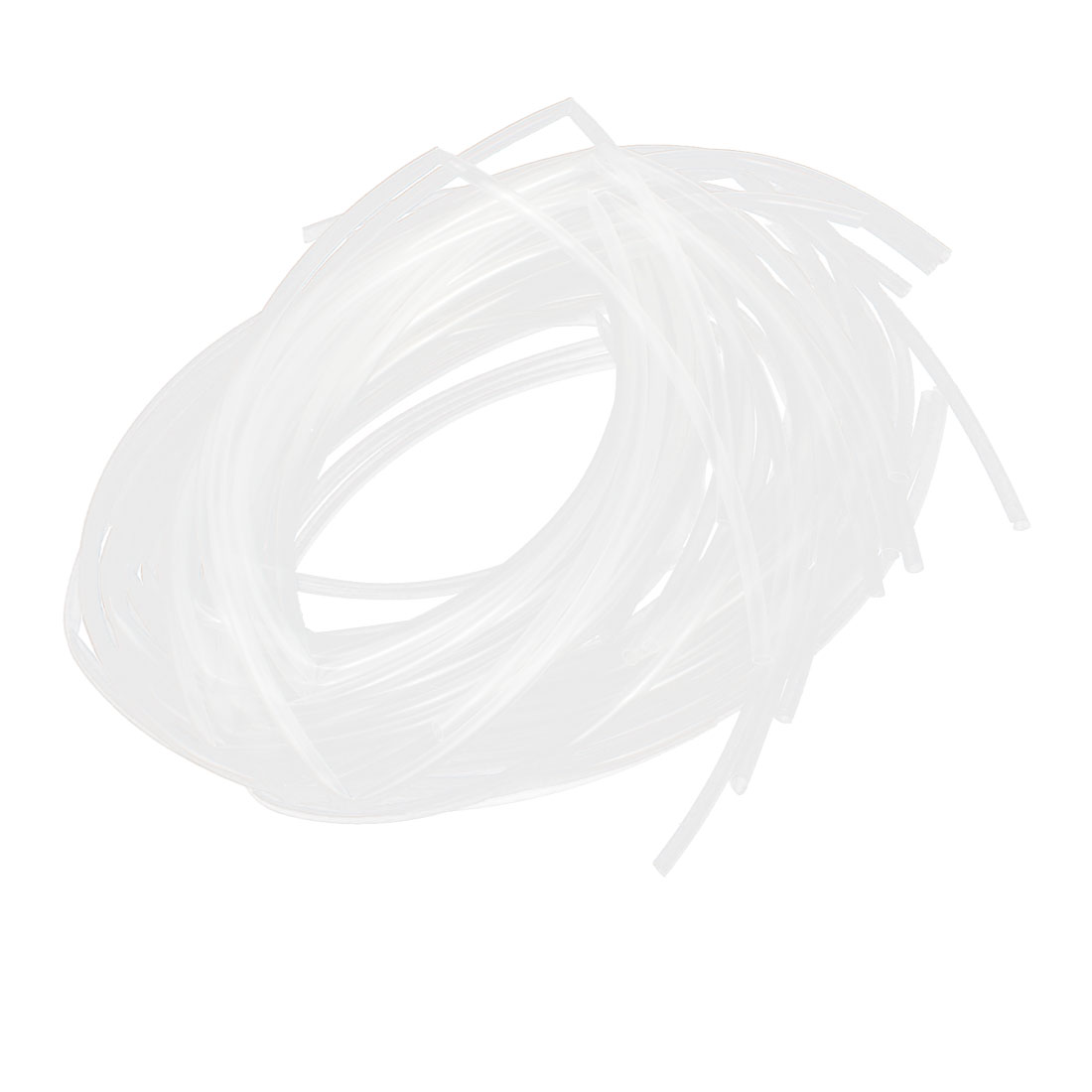 20Pcs Clear 3.3Ft 5mm Diameter Heat Shrink Tubing Shrinkable Tubes