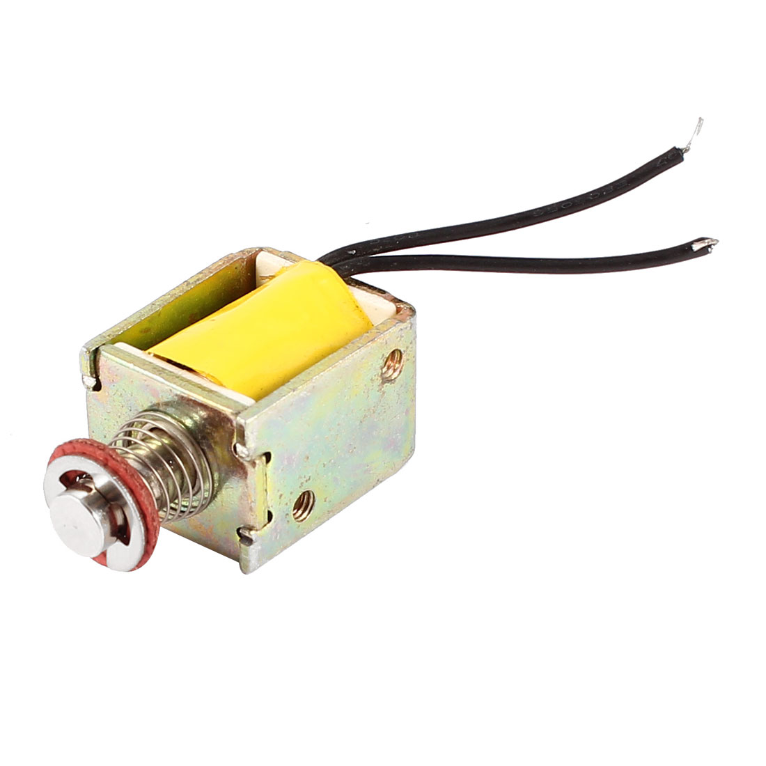 DC 15V 0.21A 150gf/50gf 1mm/4mm Push Type Open Frame Actuator Solenoid Electromagnet