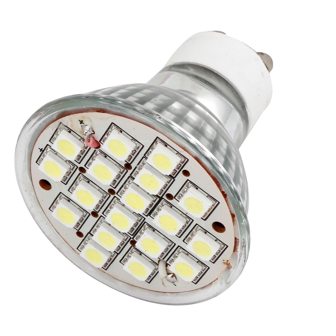 Household 6W GU10 18 5050 SMD White LED Lamp Spotlight Bulb AC 110V