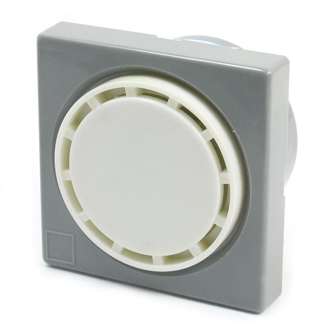 Panel Mounting High-decibel 80db Electronic Alarm Buzzer Siren AC 220V 30mA