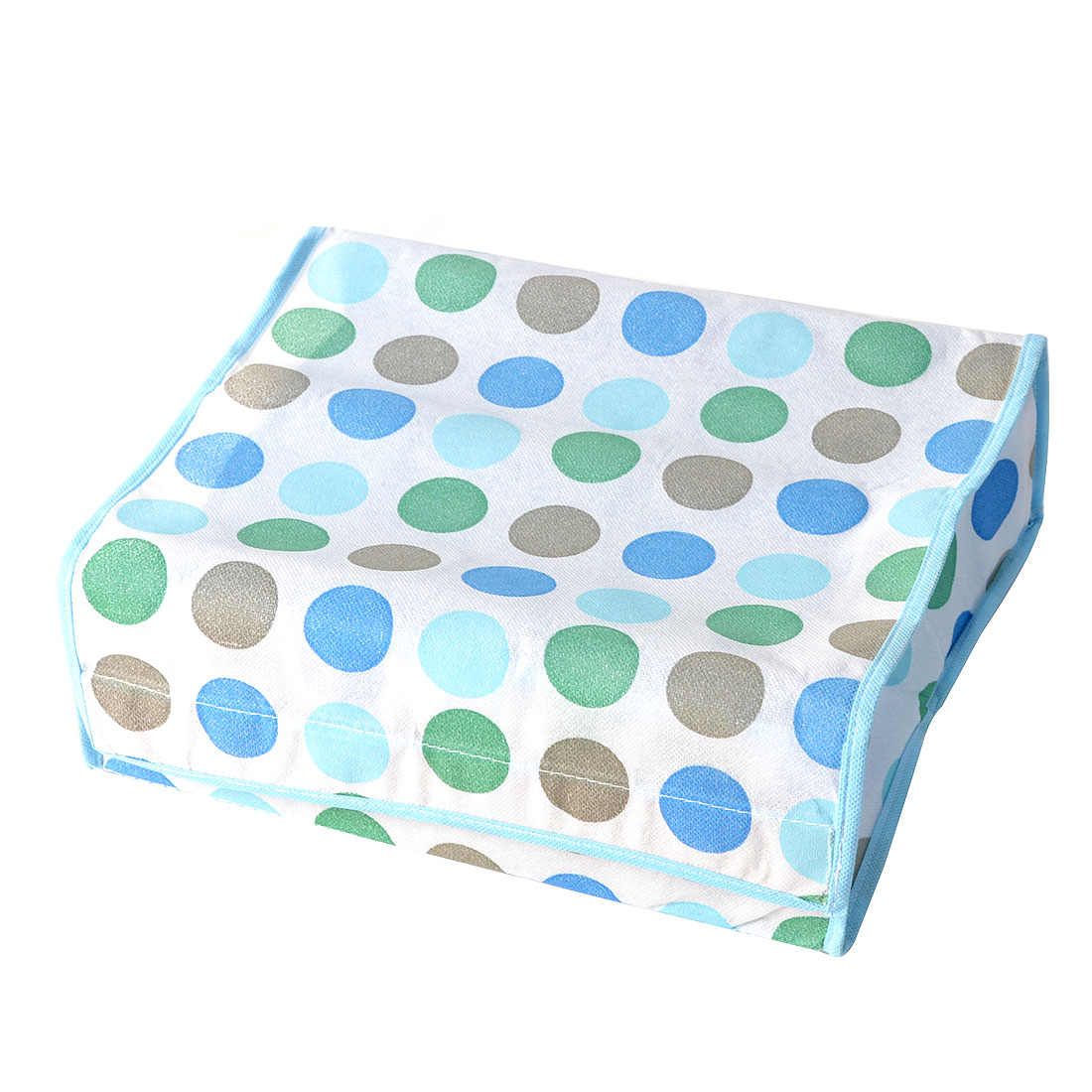 Colorful Polka Dot Rectangle Shaped 16 Compartments Non-woven Fabric Gadgets Organizer Storage Bag