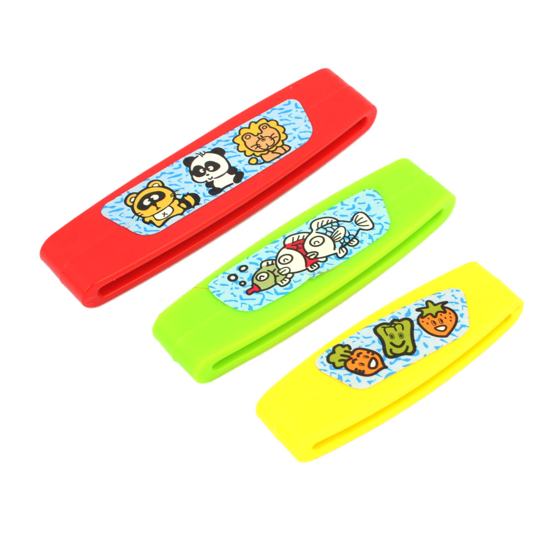 Household Home Bathroom Multi Purpose Plastic Toothpaste Tube Squeezers Creams Cosmetics Gels Squeezer Tool 3 Different Sizes Red Green Yellow