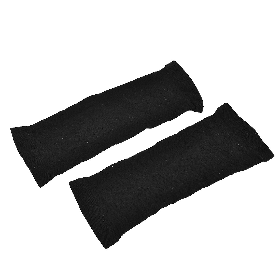 Black Elastic Fat Seamless Slimming Arm Sleeve Shaper Building Belt