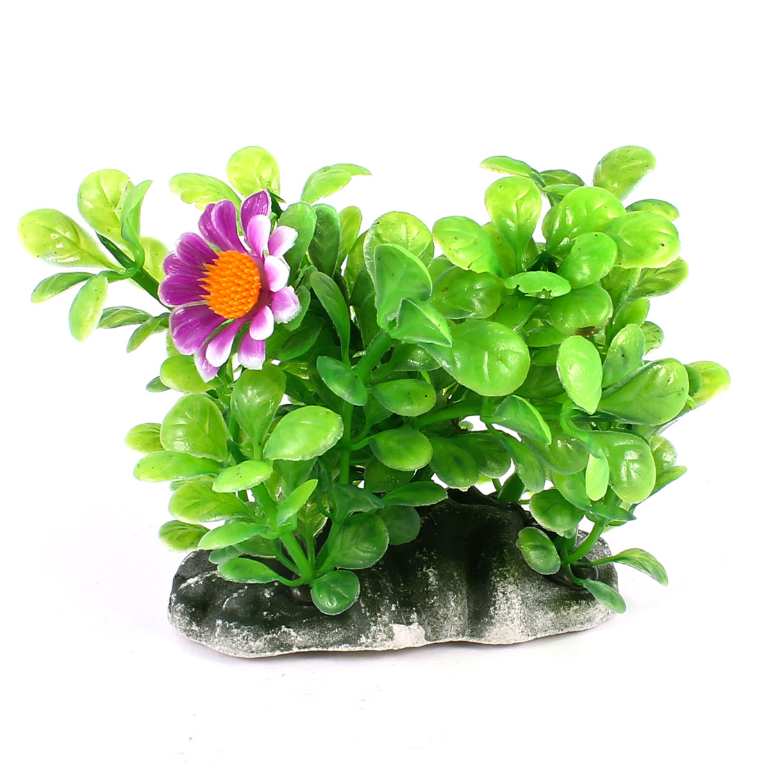 "3.5"" Height Aquarium Tanks Aquascaping Green Plastic Decorative Underwater Plant"
