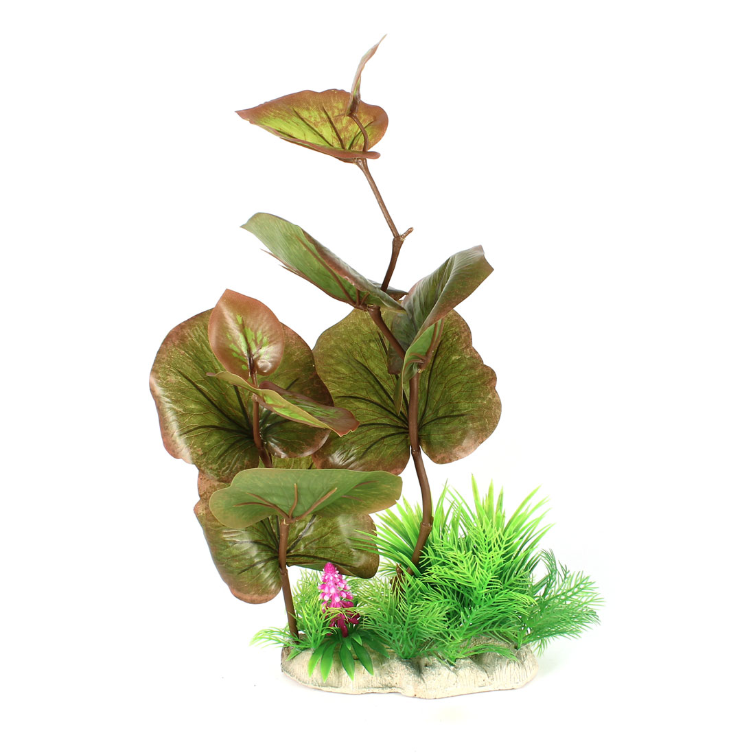 41cm High Fish Tank Manmade Green Plastic Decorative Water Aquaric Plant Grass