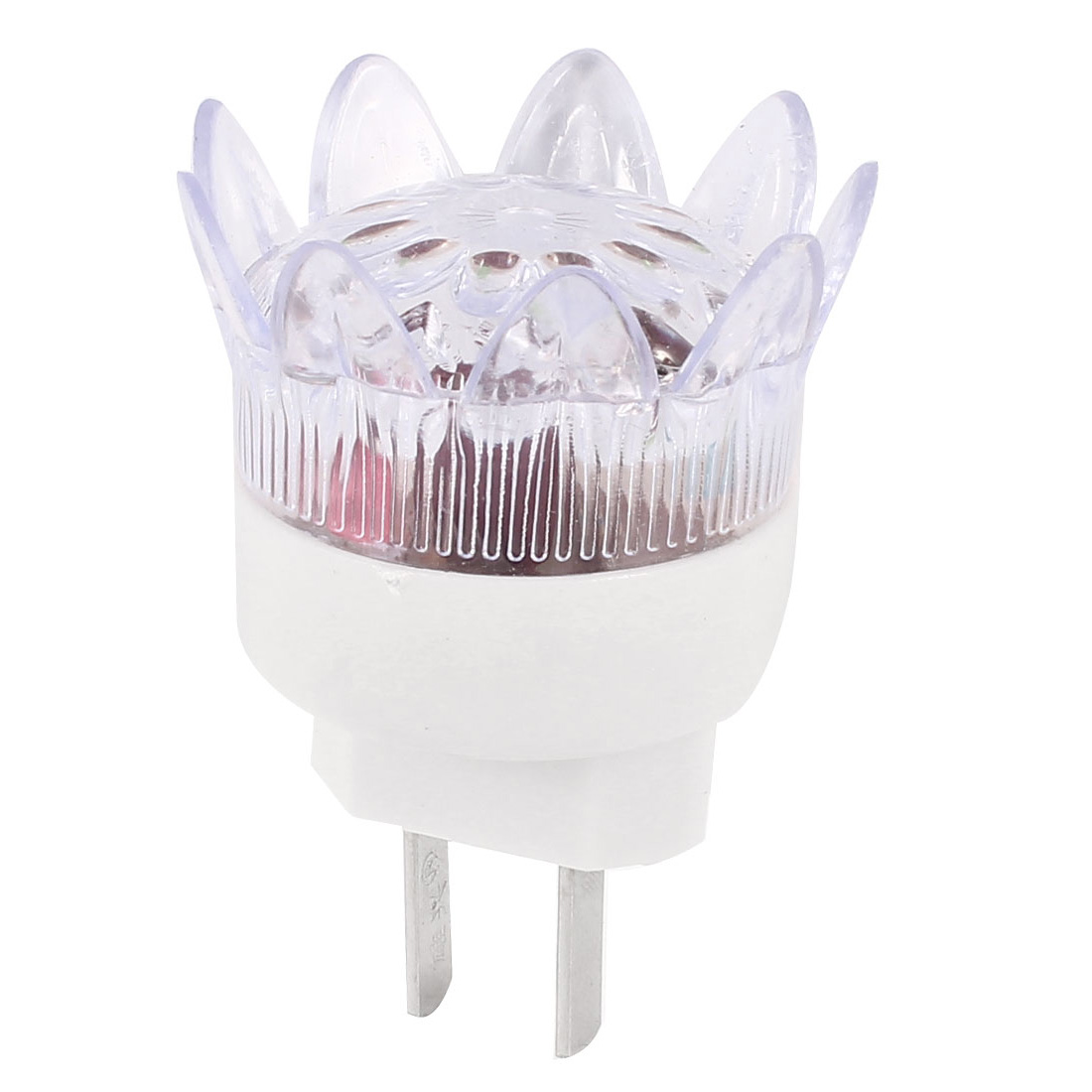 US Plug AC 120-250V Plastic Case Flower Shape Multicolor LED Light Night Lamp