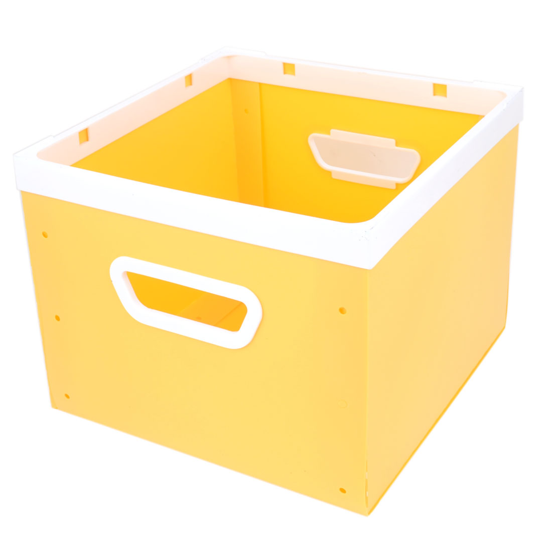 Household Square Orange Shape Assemble Skirt Clothes Underwear Storage Boxes Case