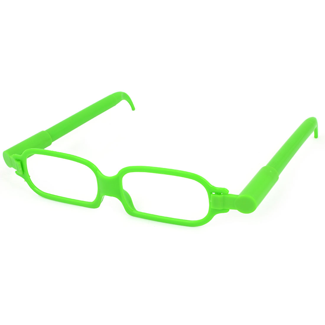 Pupil Single Bridge Full Rim Glasses Frame Shaped Ball Pen Green