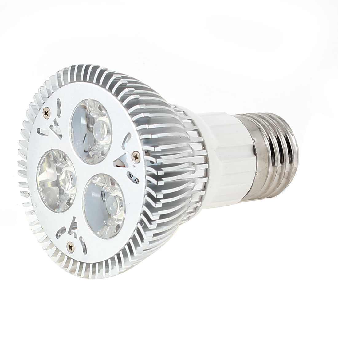 Non-Dimmable 3x3W E27 60 Degree Beam Angle Cool White Par20 LED Spotlight 220V