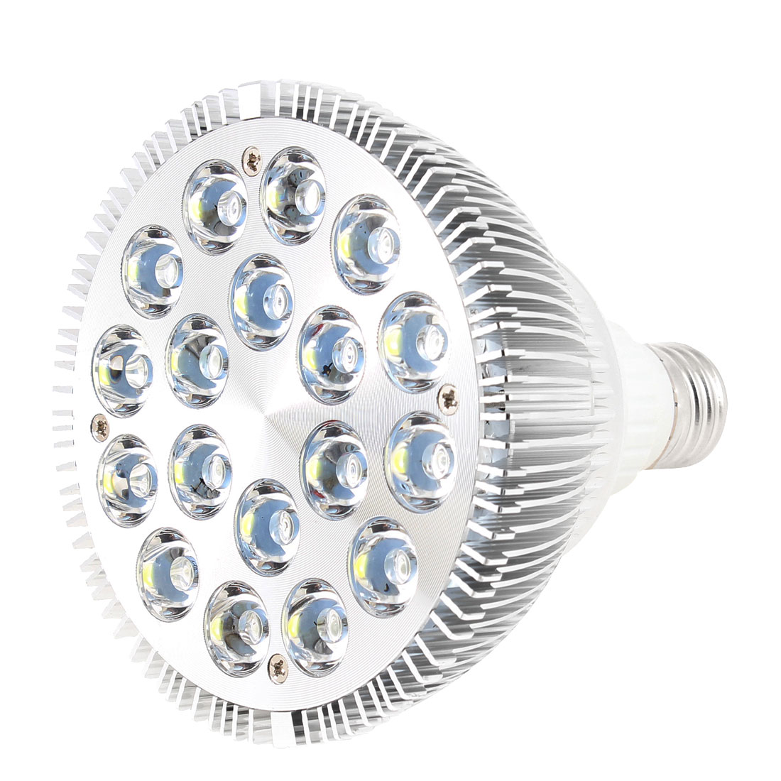 Dimmable 18x2W 36W E27 120 Degree Beam Angle Cool White Par38 LED Spotlight Lamp 220V
