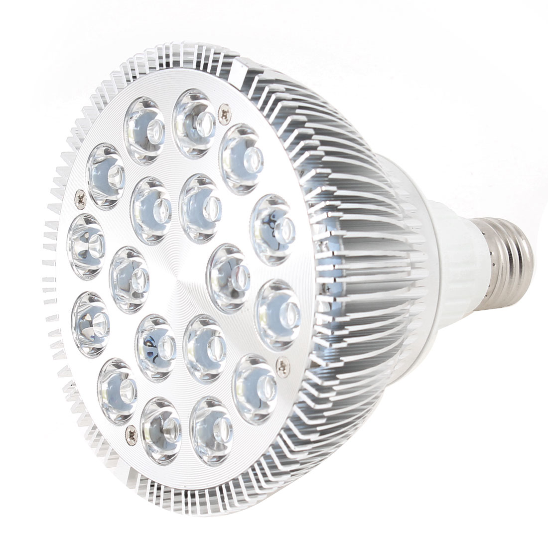Dimmable 18x2W 36W E27 120 Degree Beam Angle Natural White Par38 LED Spotlight Lamp 220V
