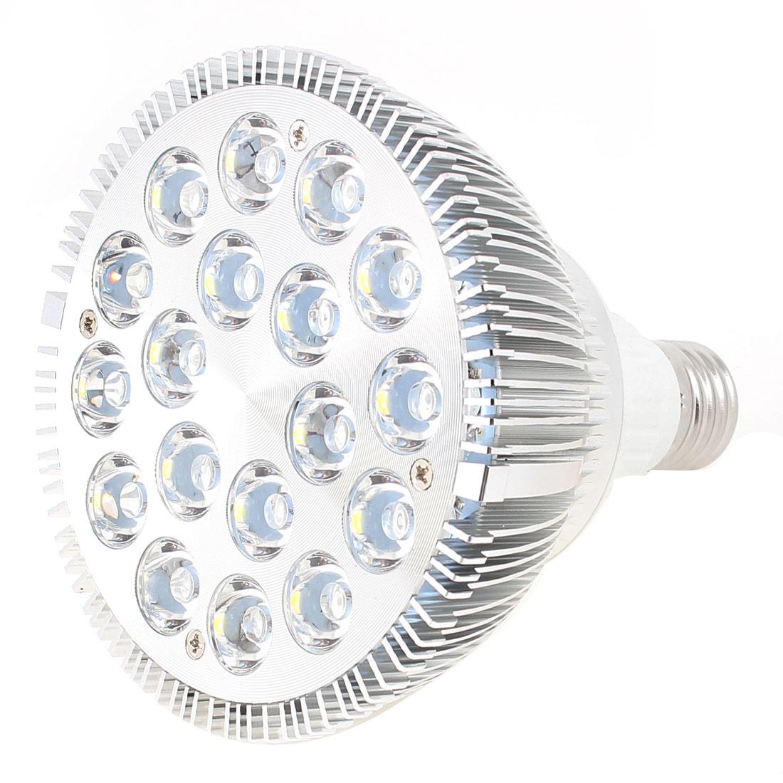 Dimmable 18x2W 36W E27 120 Degree Beam Angle Natural White Par38 LED Spotlight Lamp 110V