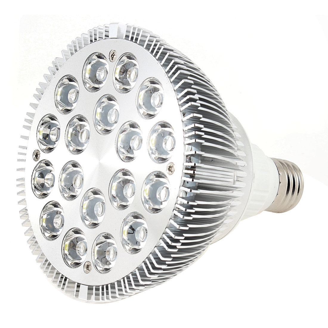 Non-Dimmable 36W E27 120 Degree Beam Angle Warm White Par38 LED Spotlight AC 85-265V