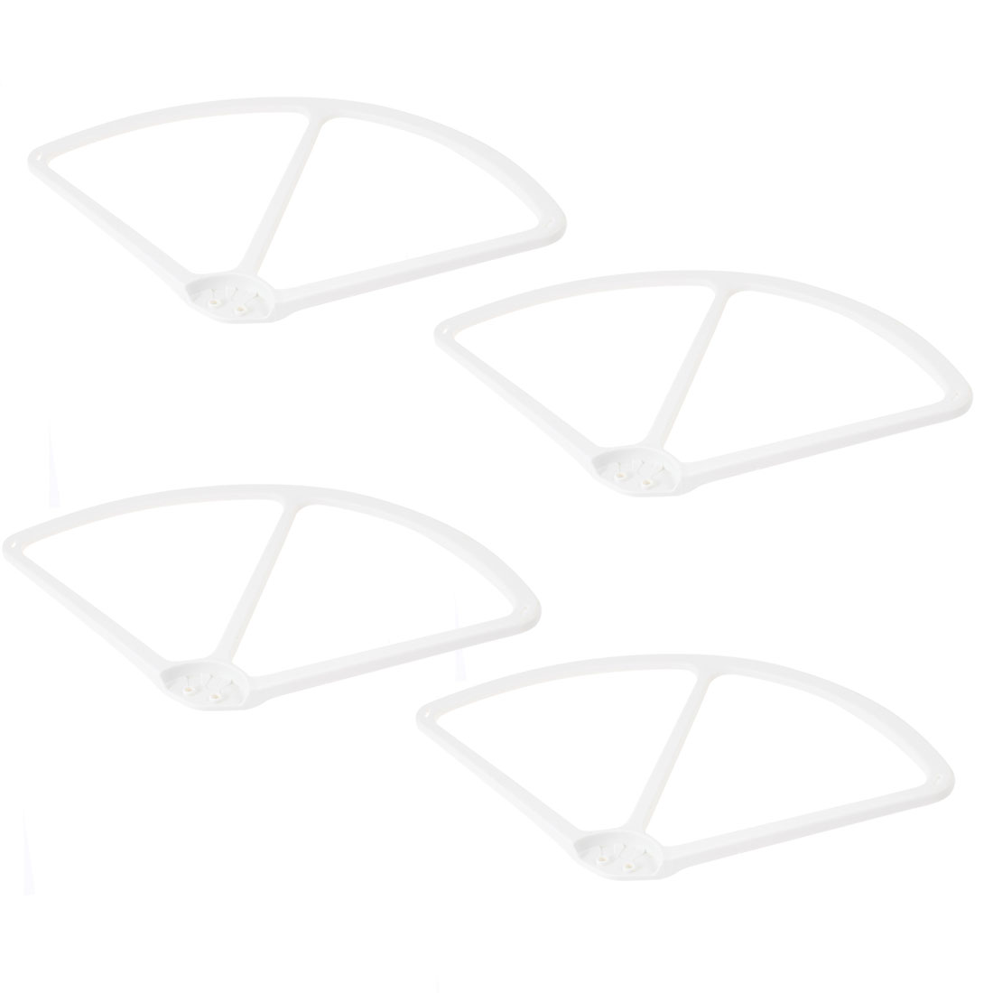 "4 Pcs White 9"" Propeller Prop Guard Protector for DJI Phantom Version 2"