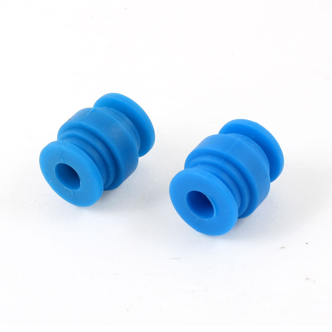 Radio-controlled Aircraft Blue Rubber Shock Absorption Damping Ball 2 Pcs