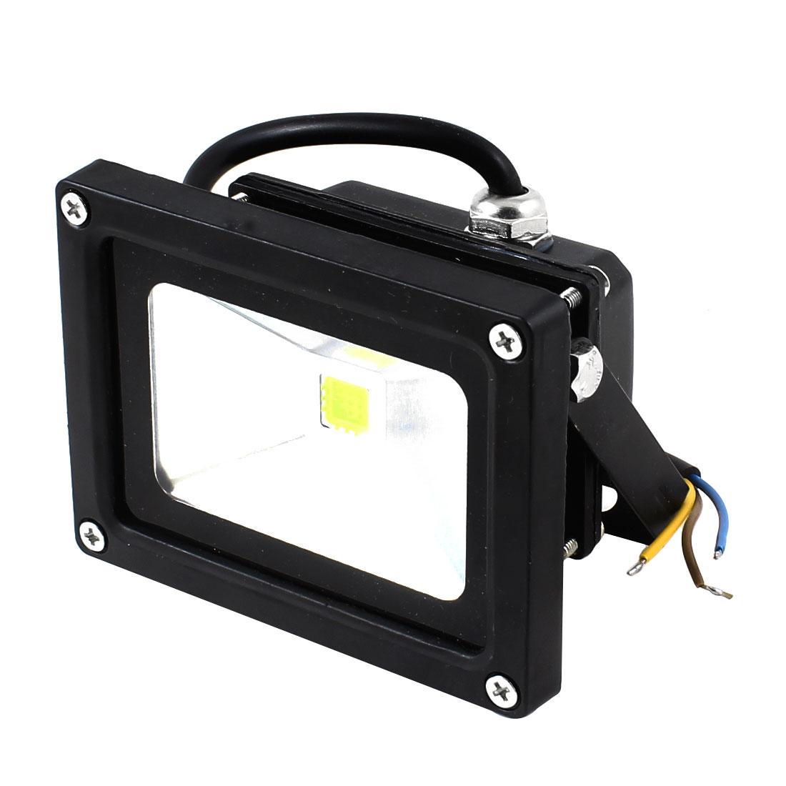 Black Rectangular Shell Car Vechicle Spot Light Fog Lamp White 12V 10W