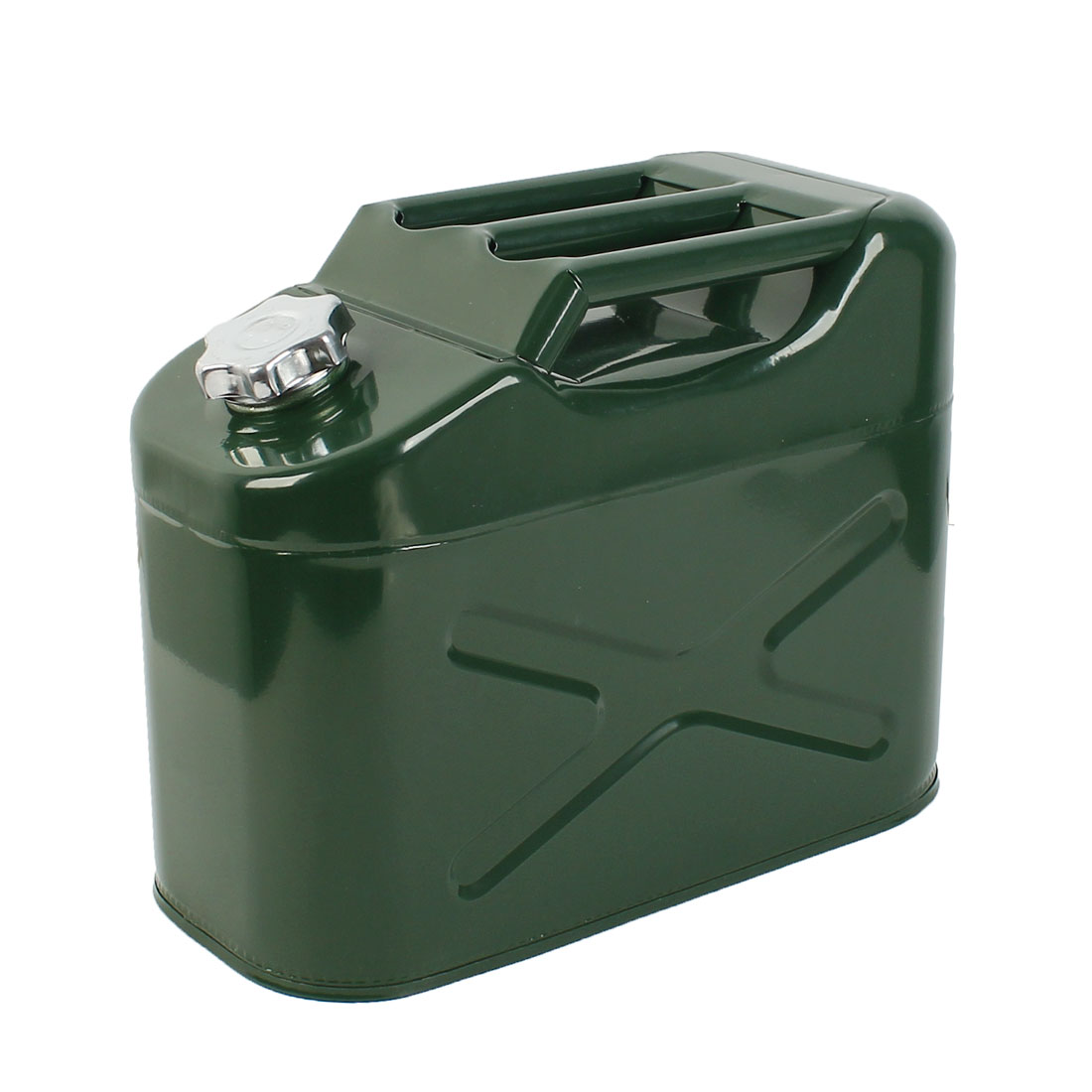 20L Army Green Metal Fuel Jerry Can Petrol Diesel Water Oil 20 Loter Container Car
