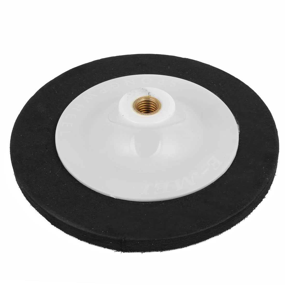 "7"" Dia Round Polishing Waxing Buffer Wheel White Black for Car Buffing"