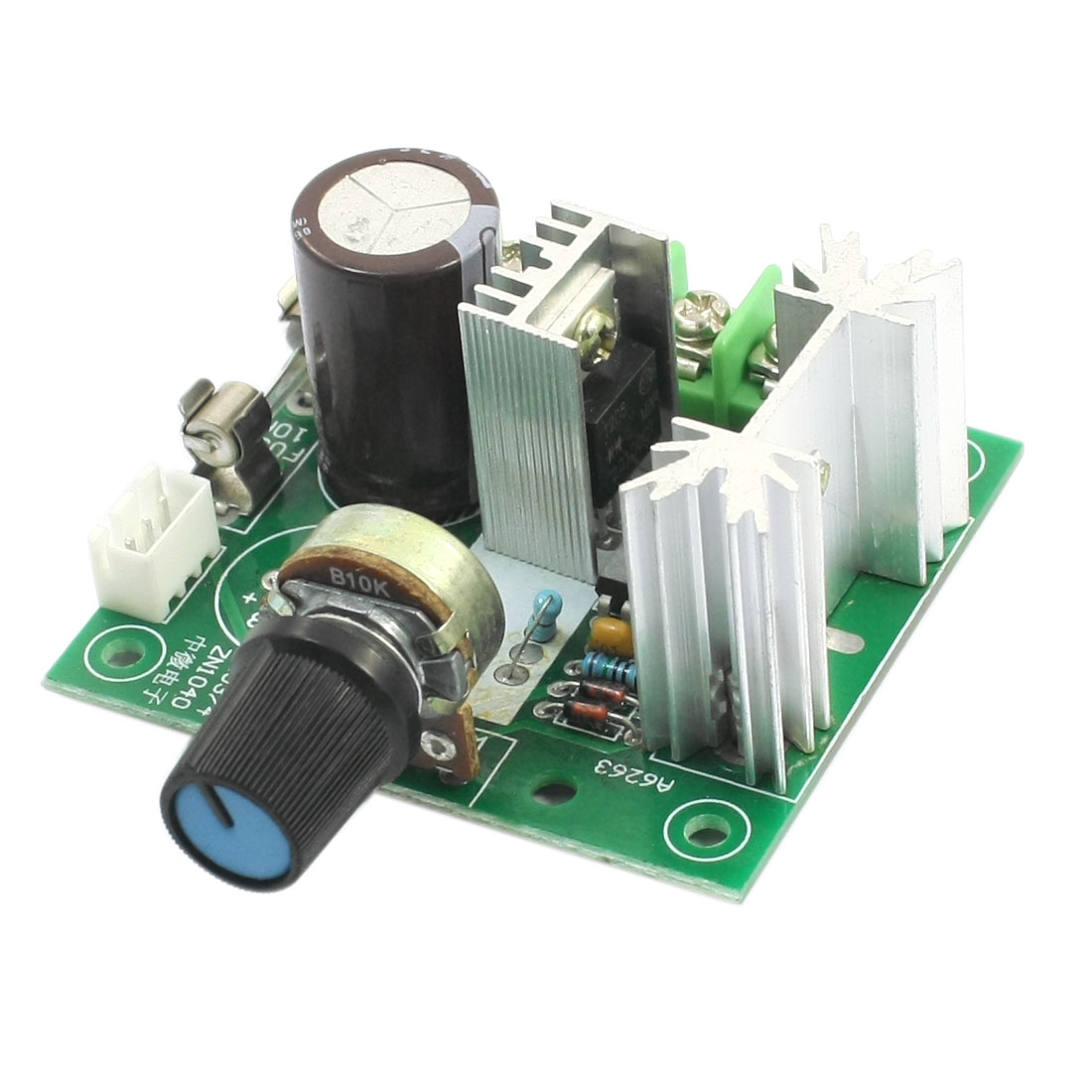 DC5-15V 200W 13KHz Potentiometer Control PWM Motor Rotary Speed Governor Regulator Module w 10A Fuse