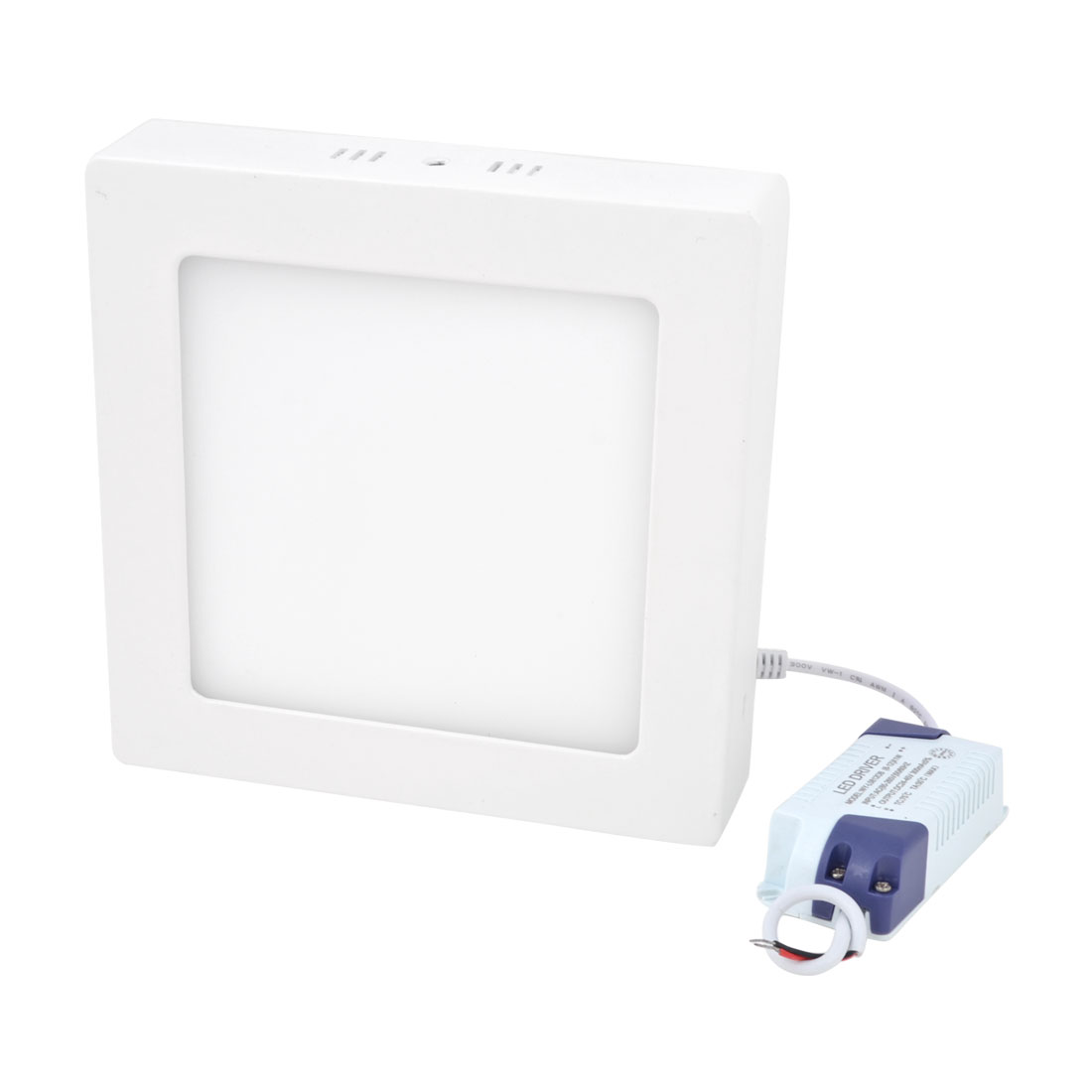 AC 85-265V 12W Warm White Square Ceiling 60 LED Surface Panel Light Downlight
