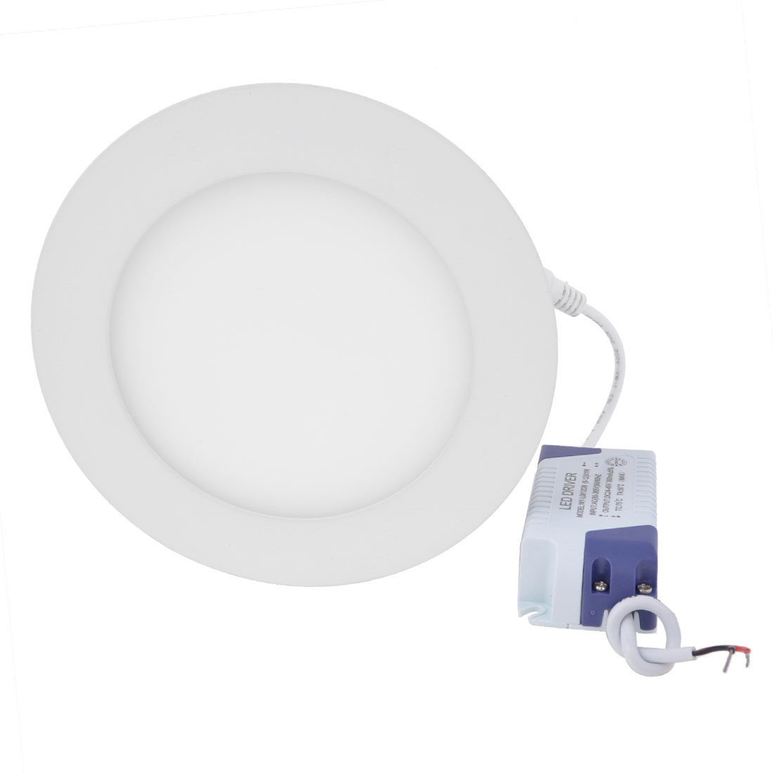 AC 85-265V 9W Pure White Recessed Round Ceiling 45 LED Panel Light Downlight