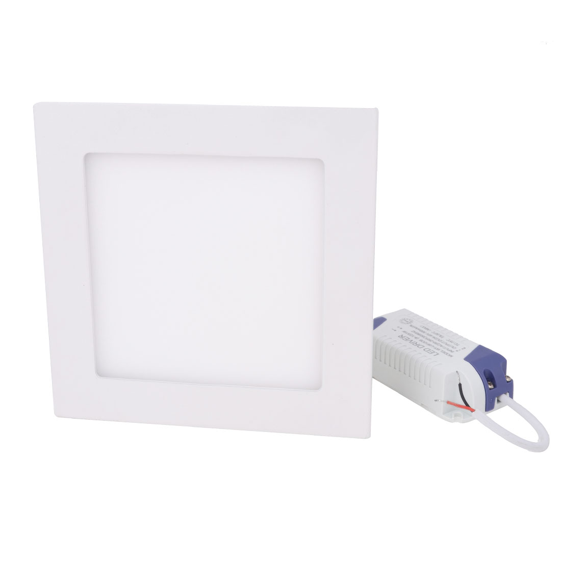 AC 85-265V 9W Warm White Recessed Square Ceiling 45 LED Panel Light Downlight