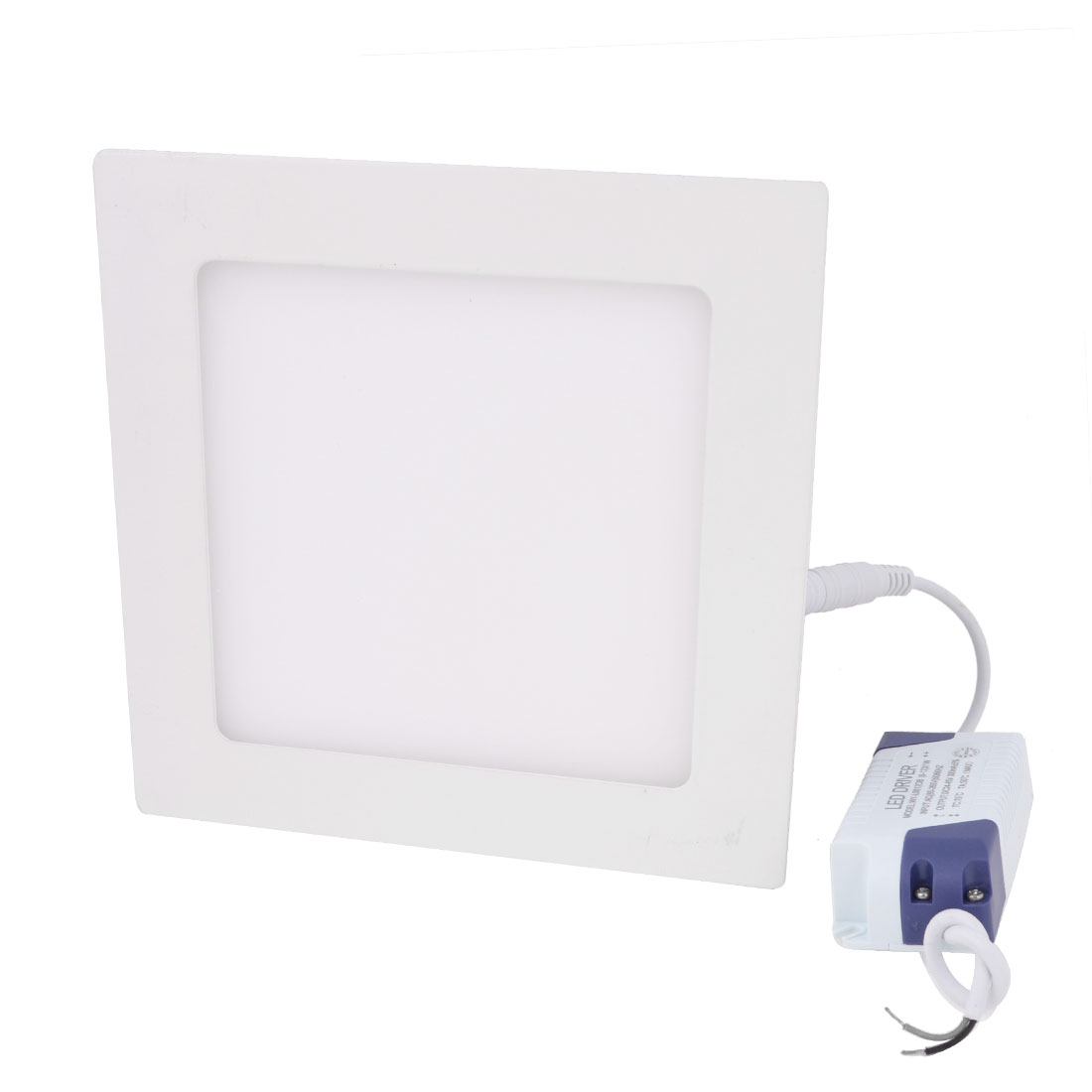 AC 85-265V 12W Pure White Recessed Square Ceiling 60 LED Panel Light Downlight