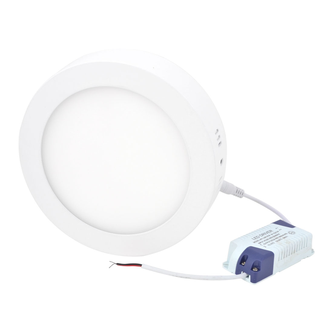 AC 85-265V 12W Warm White Round Ceiling 60 LED Surface Panel Light Downlight