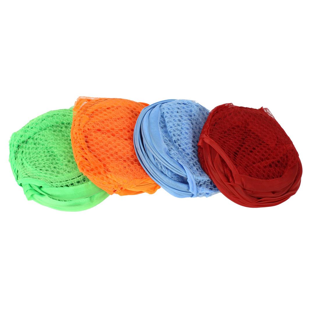 Home Mesh Underwear Bra Clothing Basket Nylon Washing Bag 4 Pcs