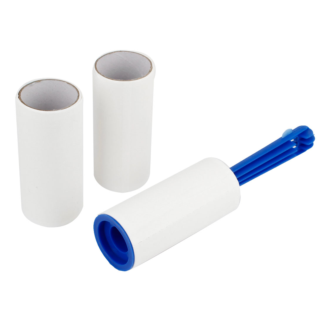 3 Pcs Plastic Handle Dust Hair Self Adhesive Sticky Lint Roller Cleaning Tool