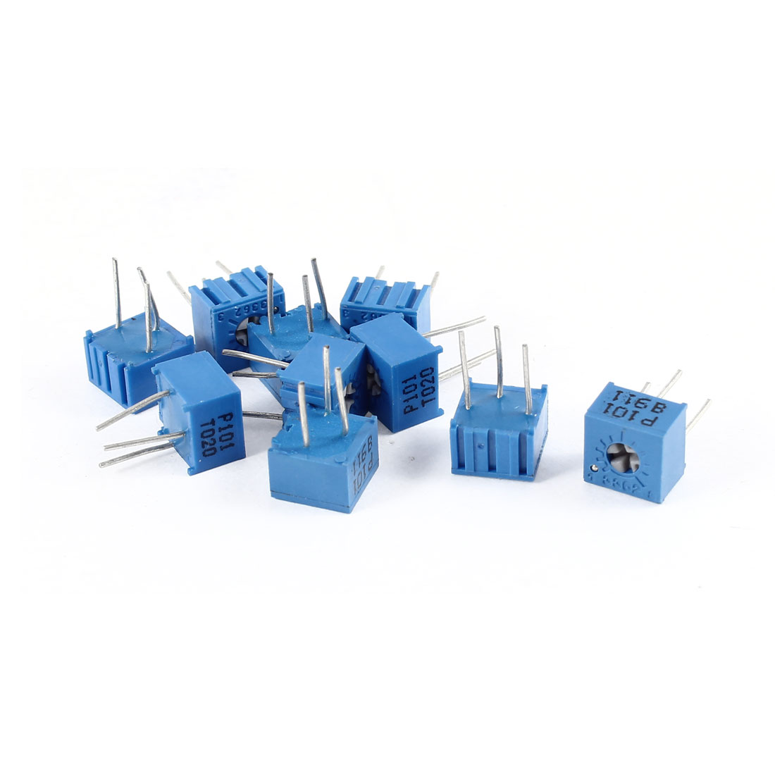 10Pcs 3362 High Precision Variable Resistors Trimmer Potentiometer 100Ohm 0.5W