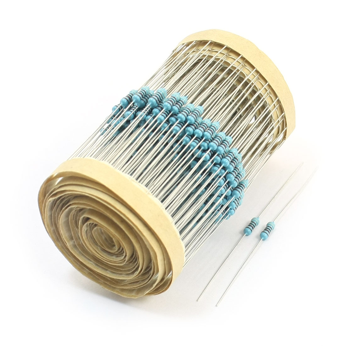 300pcs 6x2mm Body 0.25W 1% 9.1K Ohm Axial Lead Metal Film Resistors