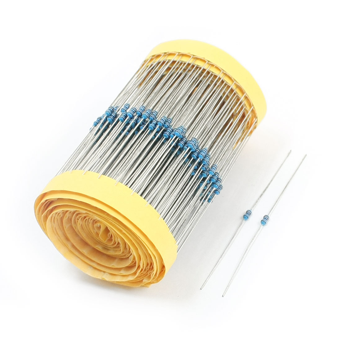 600PCS 1/8Watt 130K Ohm 1% Tolerance Axial Lead Metal Film Resistors