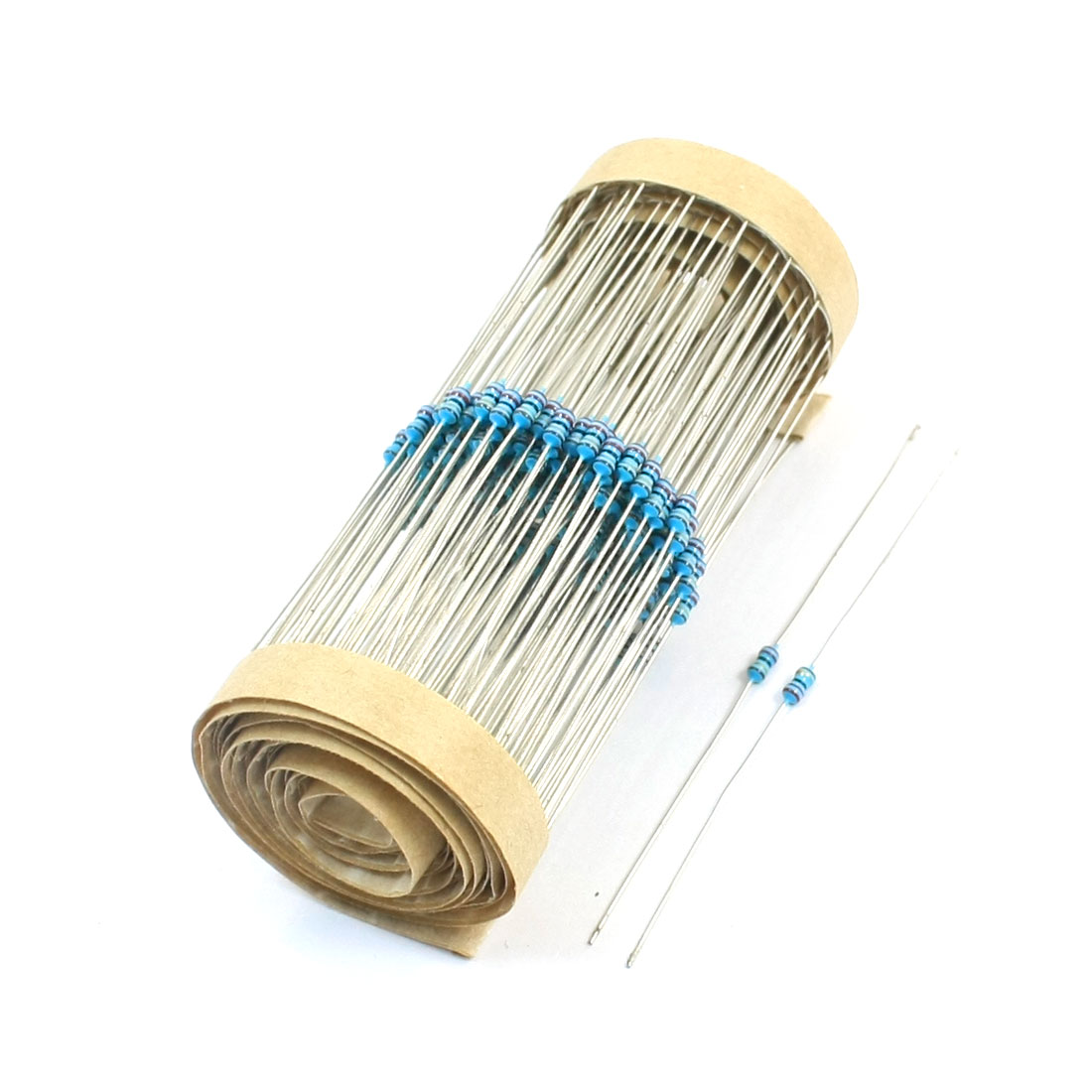 300 Pcs 1/8W Watt 22 Ohm 1% Tolerance Axial Lead Metal Film Resistors
