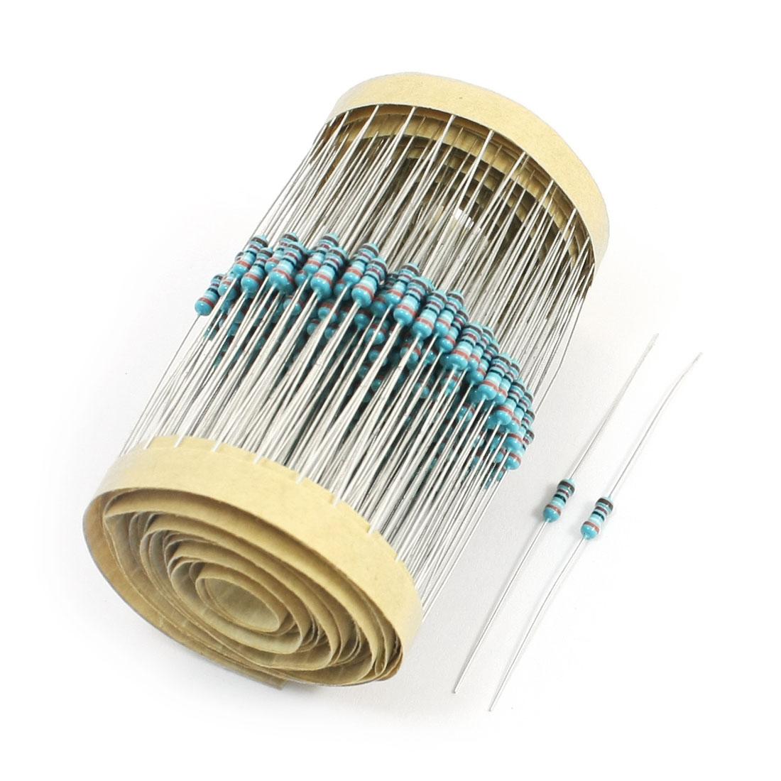 300Pcs Axial Lead Through Hole 0.25W 1% 39K Ohm Metal Film Resistor