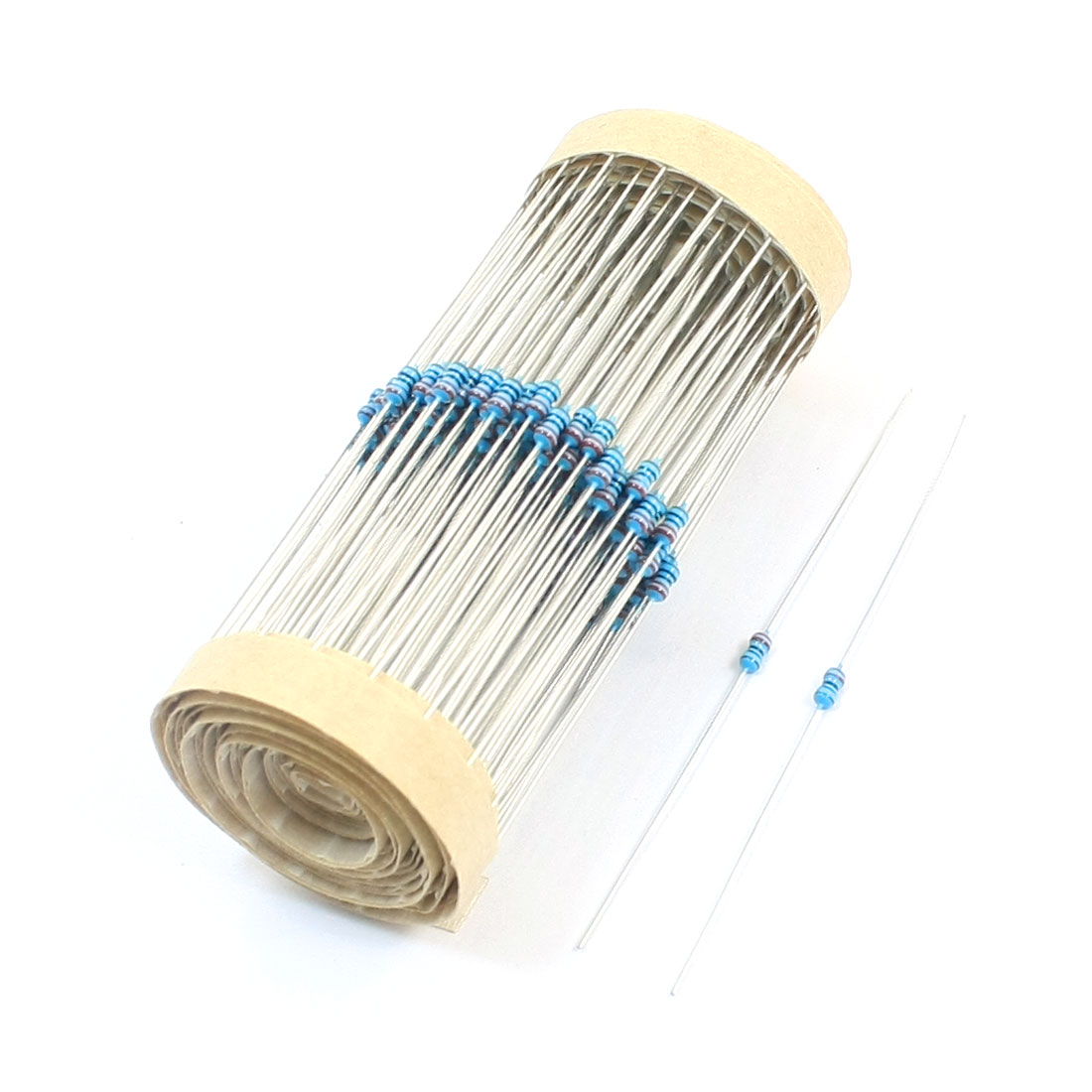 300Pcs Axial Lead Through Hole 1/8W 1% 220 Ohm Metal Film Resistor