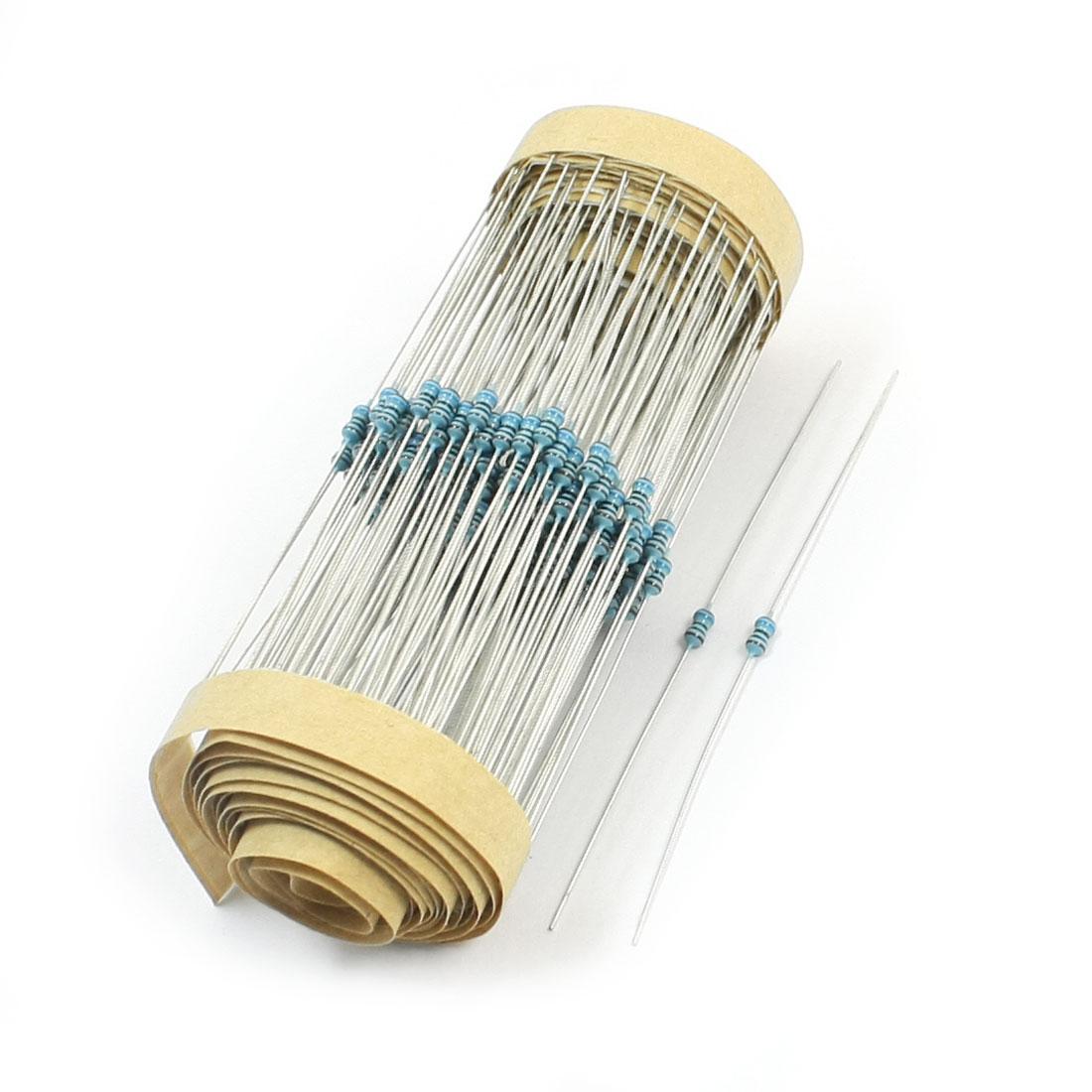 300pcs 3x2mm Body 1/8W 1% 160 Ohm Axial Lead Metal Film Resistors