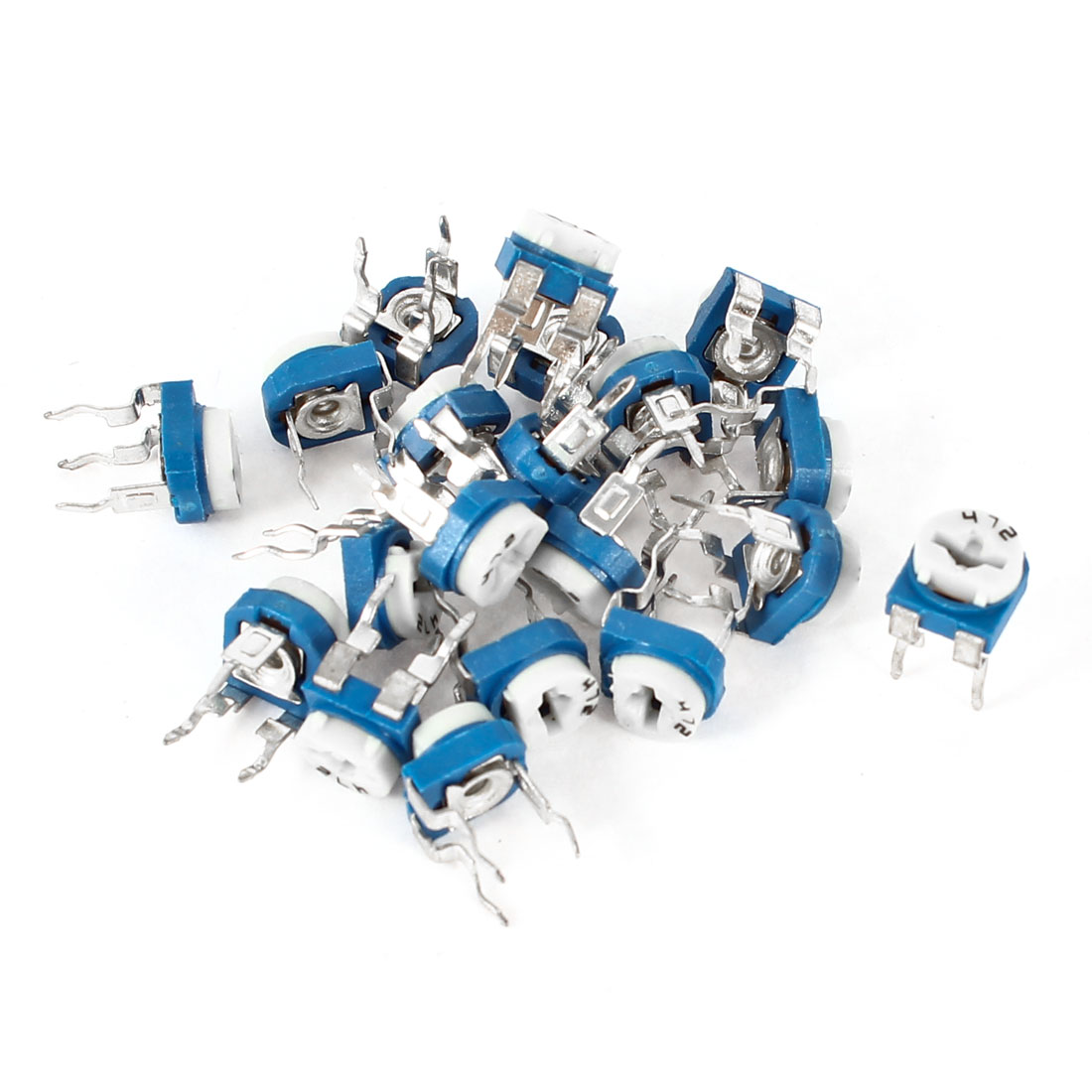 20pcs 472 4.7K Ohm Variable Resistor Horizontal Trimmer Potentiometers