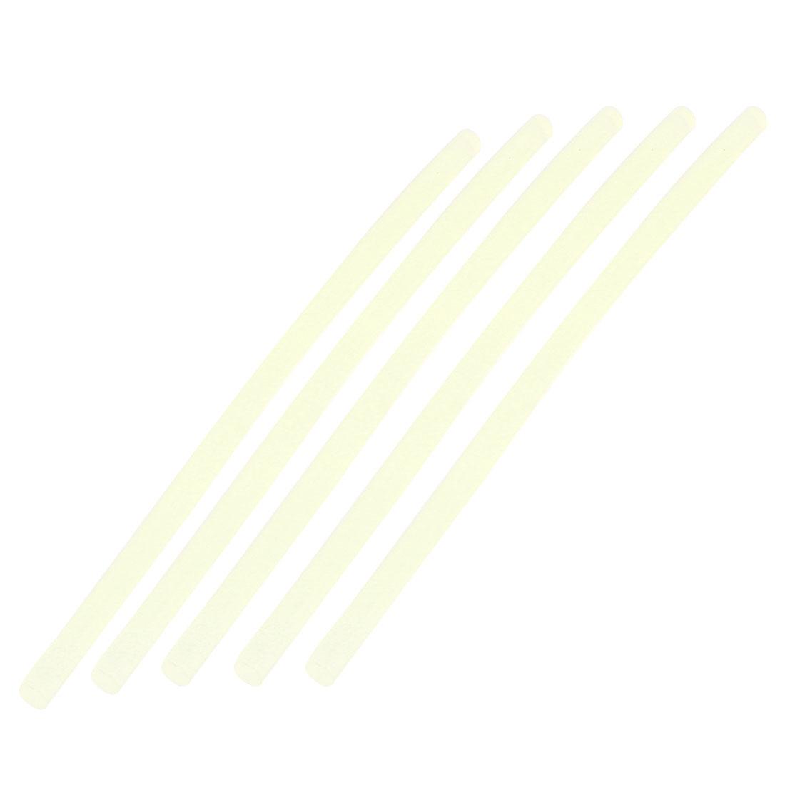 5 Pcs White Hot Melt Glue Sticks 7mm Diameter 200mm Long