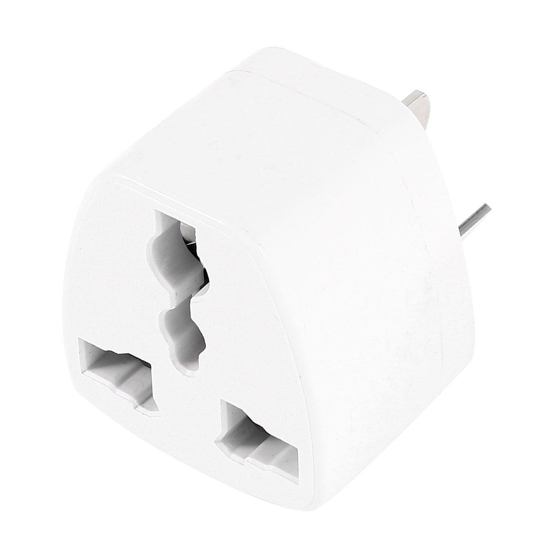 AU 3 Pin Plug to EU UK US Socket Travel Adapter Converter AC 250V 10A