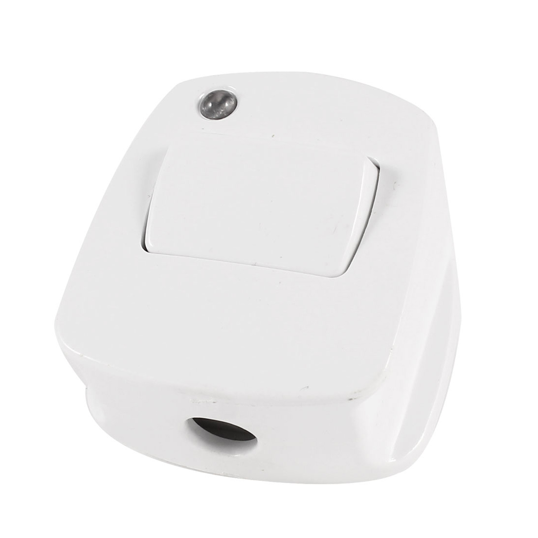 White Plastic On Off Button AU 3 Pin Power Connector Adapter AC 250V 10A