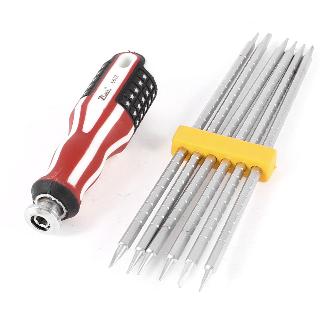 Hand Tools Star Pattern Grip Slotted Phillips Torx Screwdriver 6 in 1 Set
